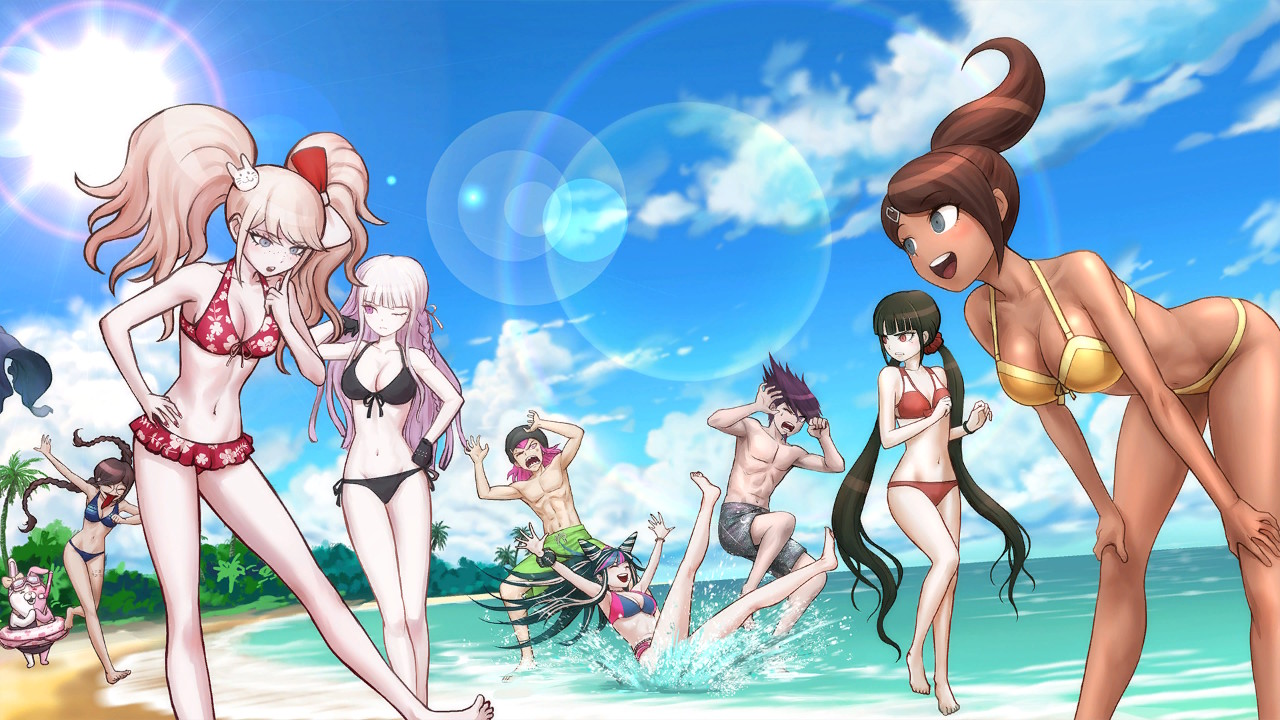 Screenshot From Danganronpa S Ultimate Summer Camp Included With Danganronpa Decadence