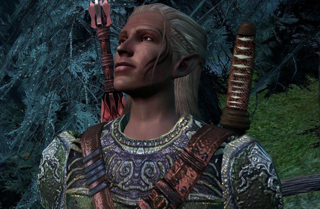 Dragon Age Origins Screenshot of Zevran in Haven