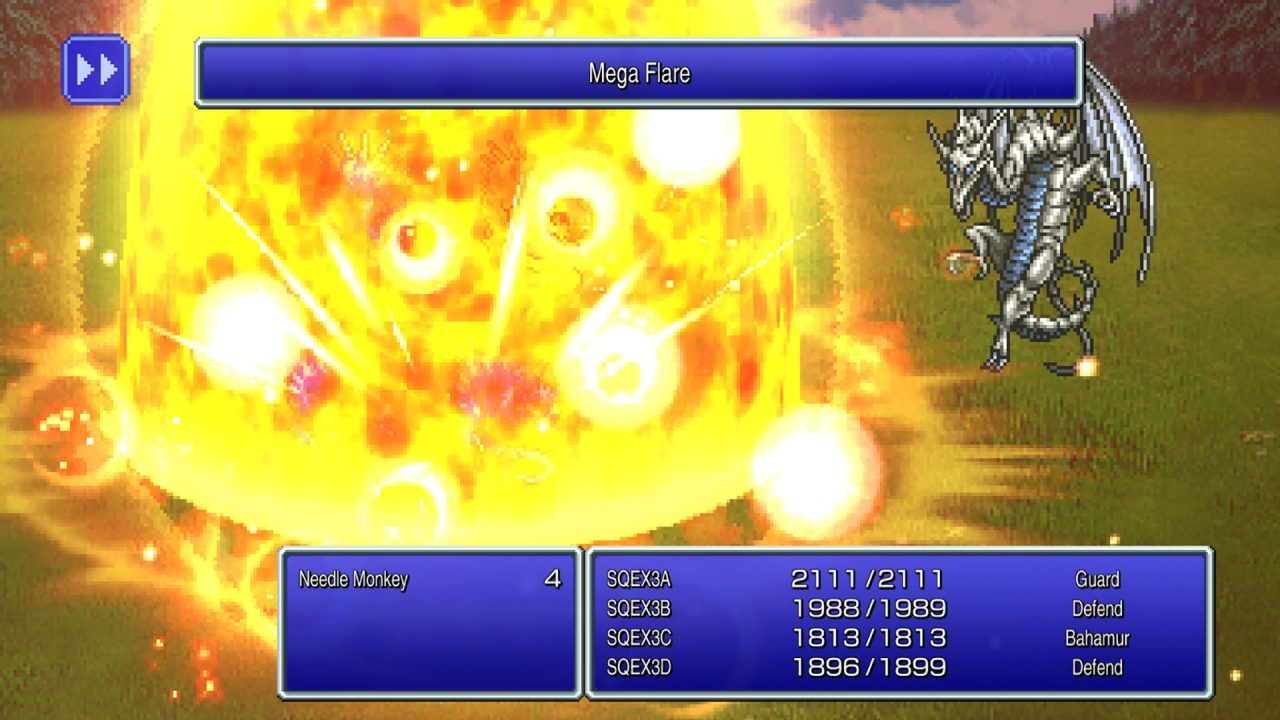 Screenshot From Final Fantasy III Pixel Remaster