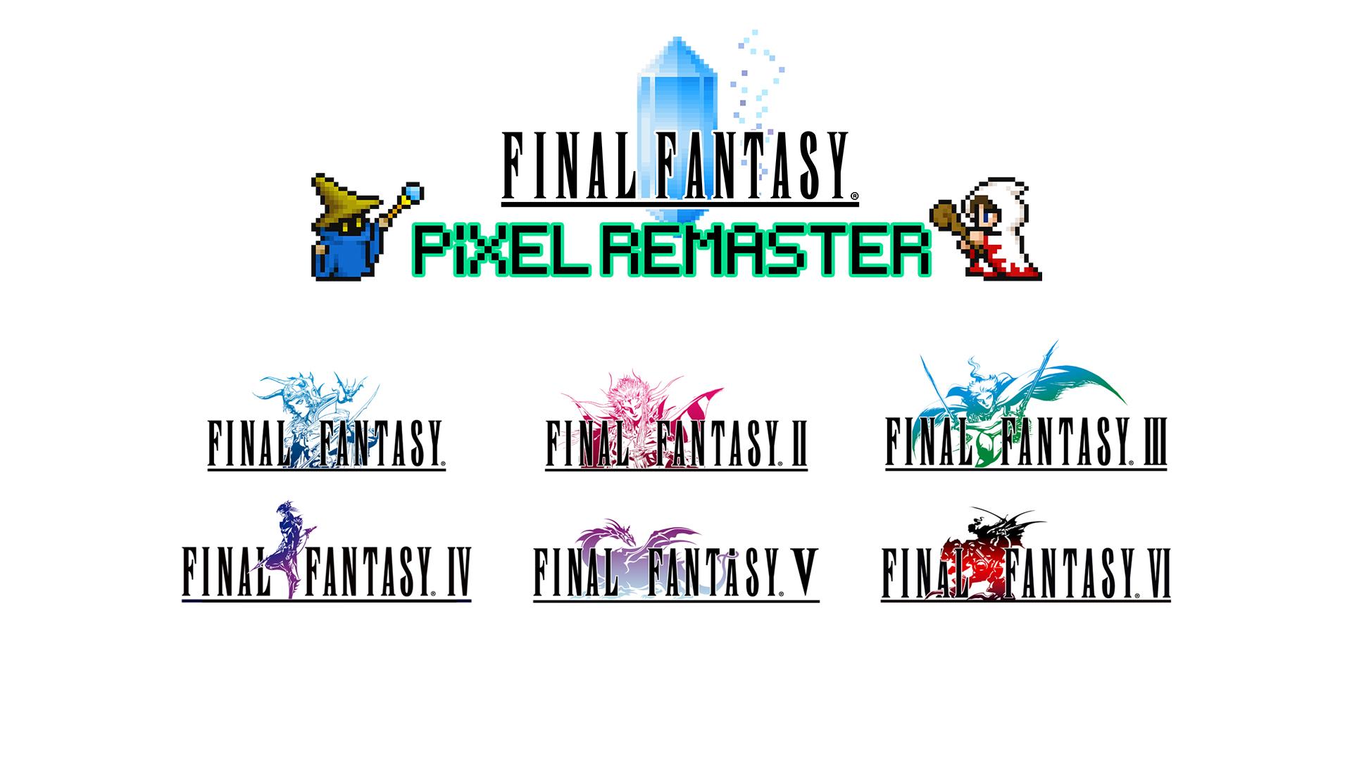 Final Fantasy: Pixel Remaster Logos