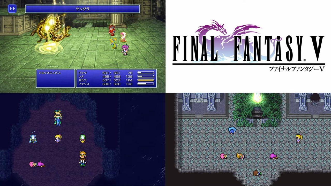 Final Fantasy V Pixel Remaster Preview
