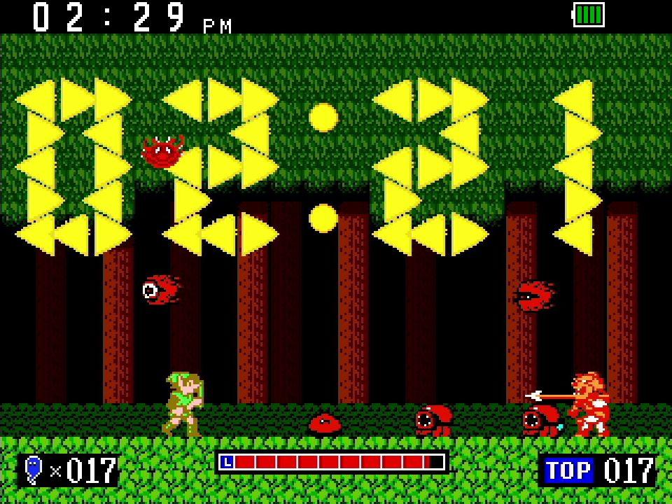 Game & Watch The Legend of Zelda Clock Screenshot 01