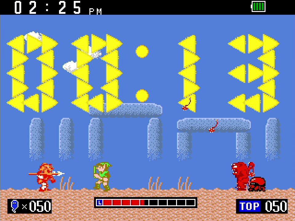 Game & Watch The Legend of Zelda Clock Screenshot 02
