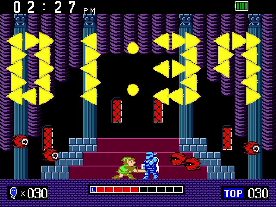 Game & Watch The Legend of Zelda Clock Screenshot 03