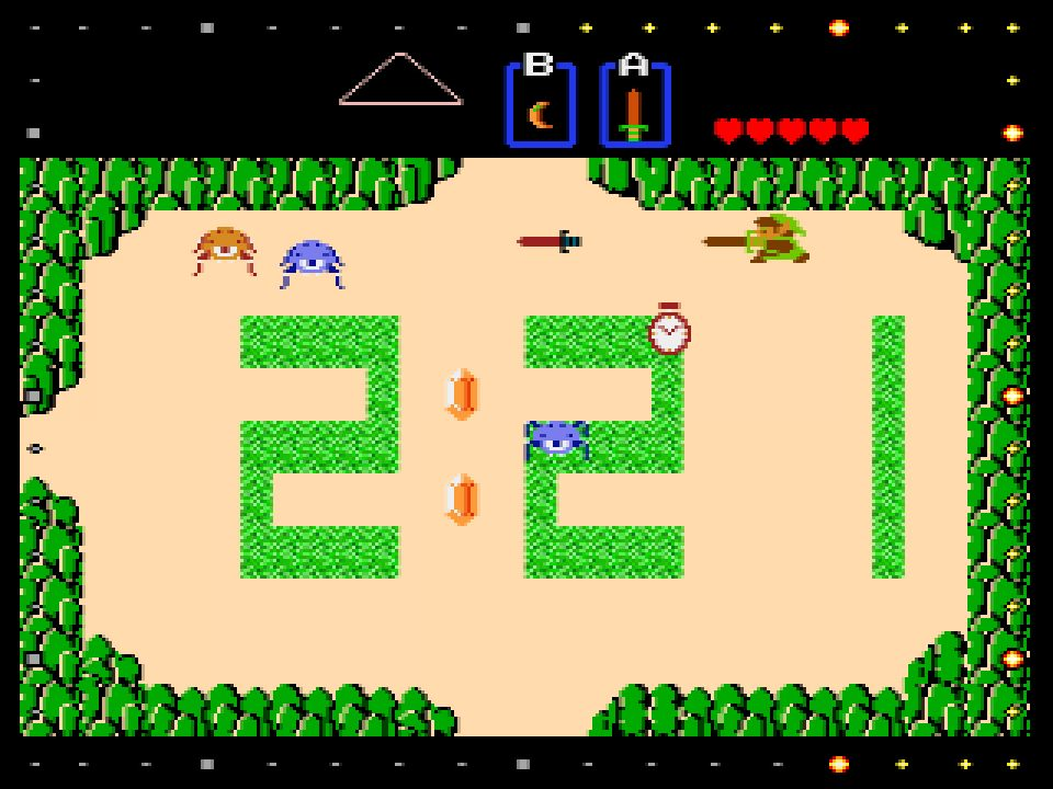 Game & Watch The Legend of Zelda Clock Screenshot 04
