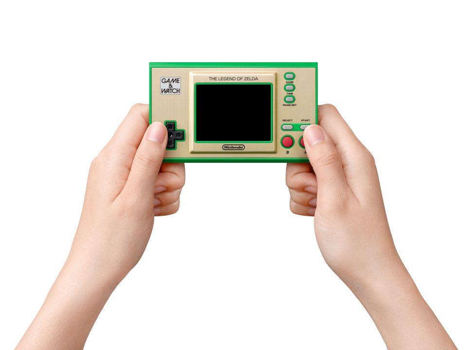 Game & Watch The Legend of Zelda In Hand