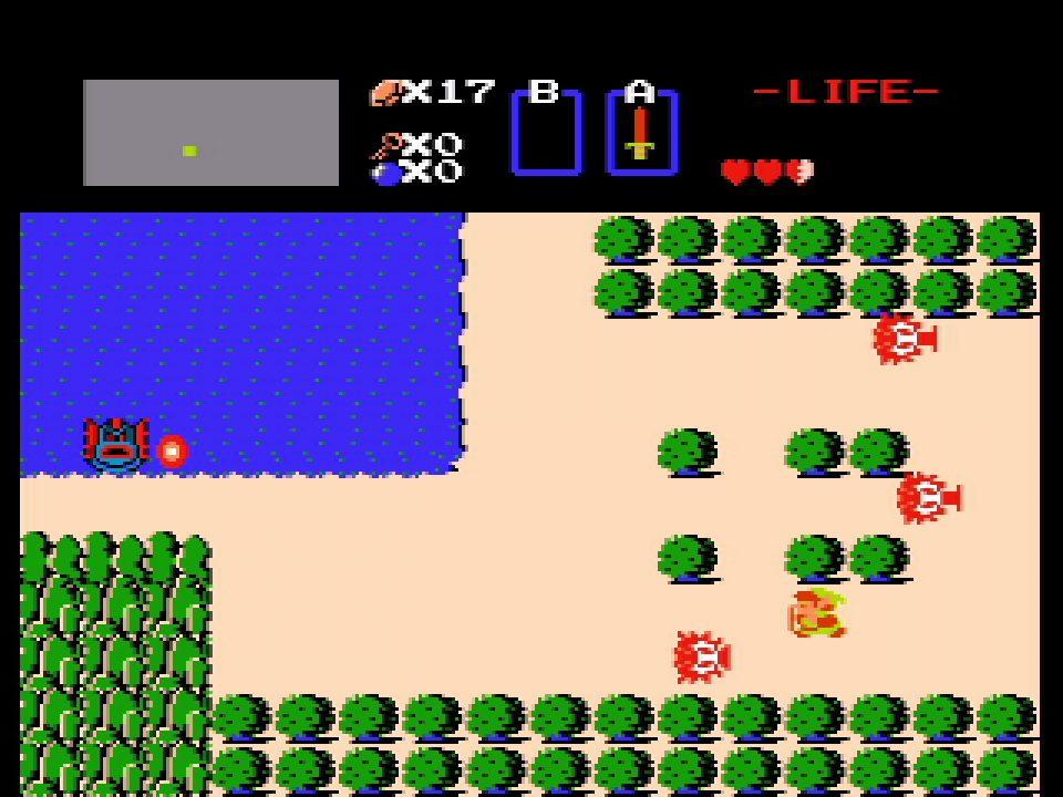Game & Watch The Legend of Zelda Screenshot 1