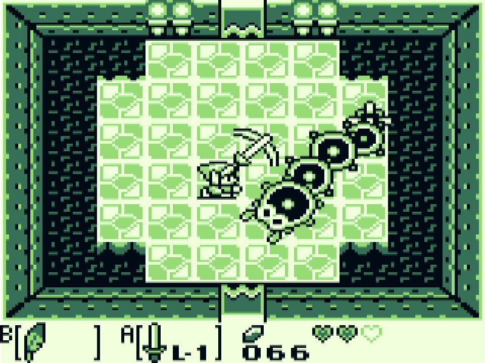 Game & Watch The Legend of Zelda Screenshot of Link's Awakening