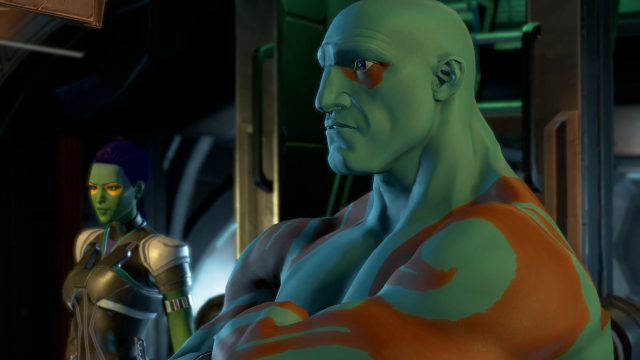 Drax and Gamora from Guardians of the Galaxy: The Telltale Series