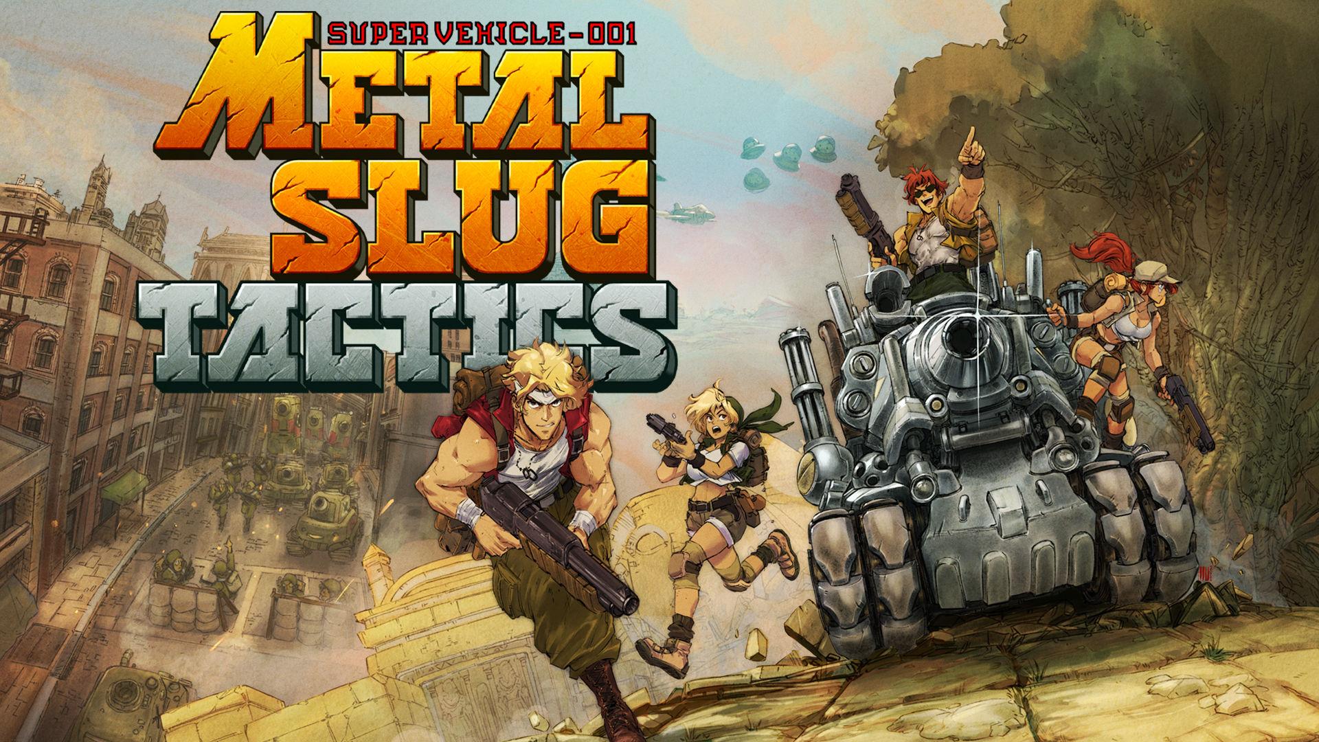 Metal Slug Tactics Artwork 001