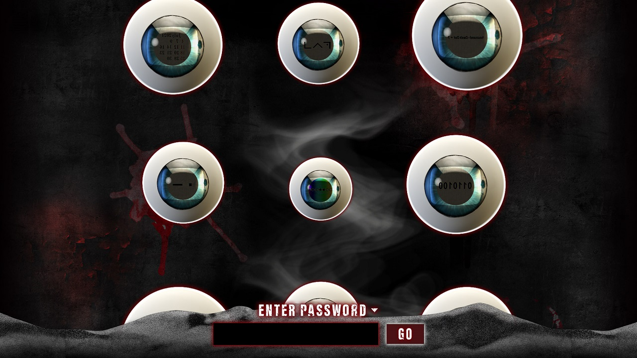 Nine Eyes Staring at you in a teaser website image called Nine Eyes TV from Spike Chunsoft. it hints to a sequel to Ai: The Somnium Files.