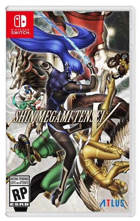 Shin Megami Tensei V Cover Art (US, Packaged)