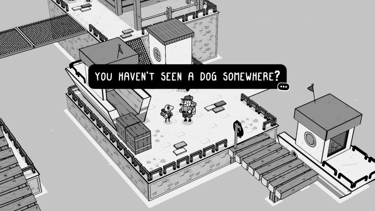 Have you seen a dog somewhere in TOEM?
