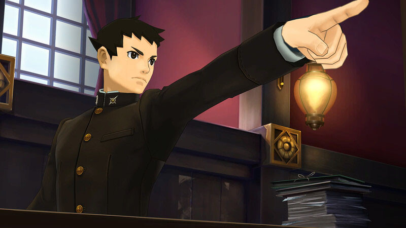 An objection is noted in The Great Ace Attorney Chronicles.