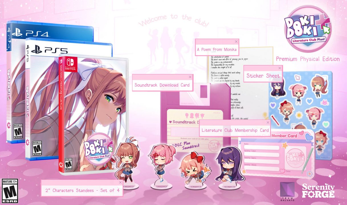 The Limited Edition of Doki Doki Literature Club Plus!