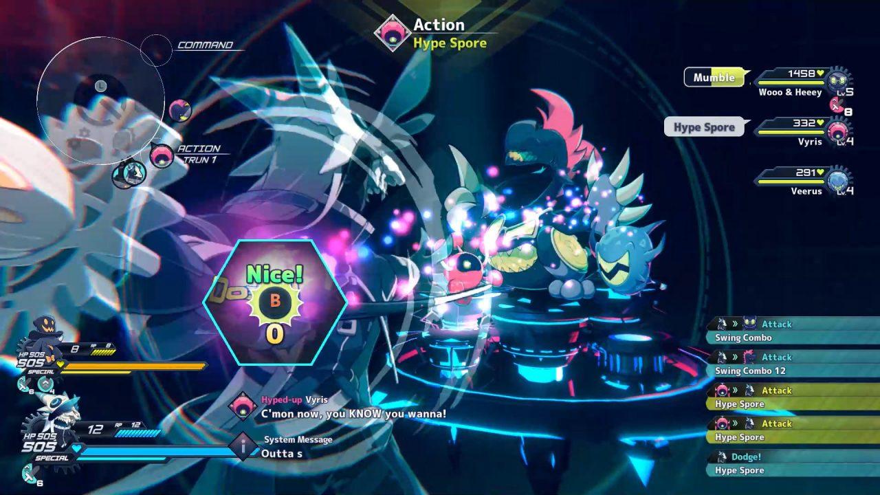 Screenshot From iii: Revolving Wonderland