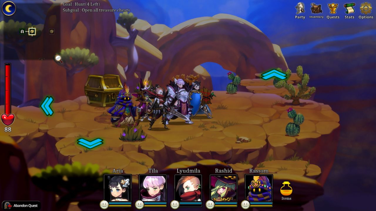 Aria Chronicle Five Party Members Embarked on Adventure