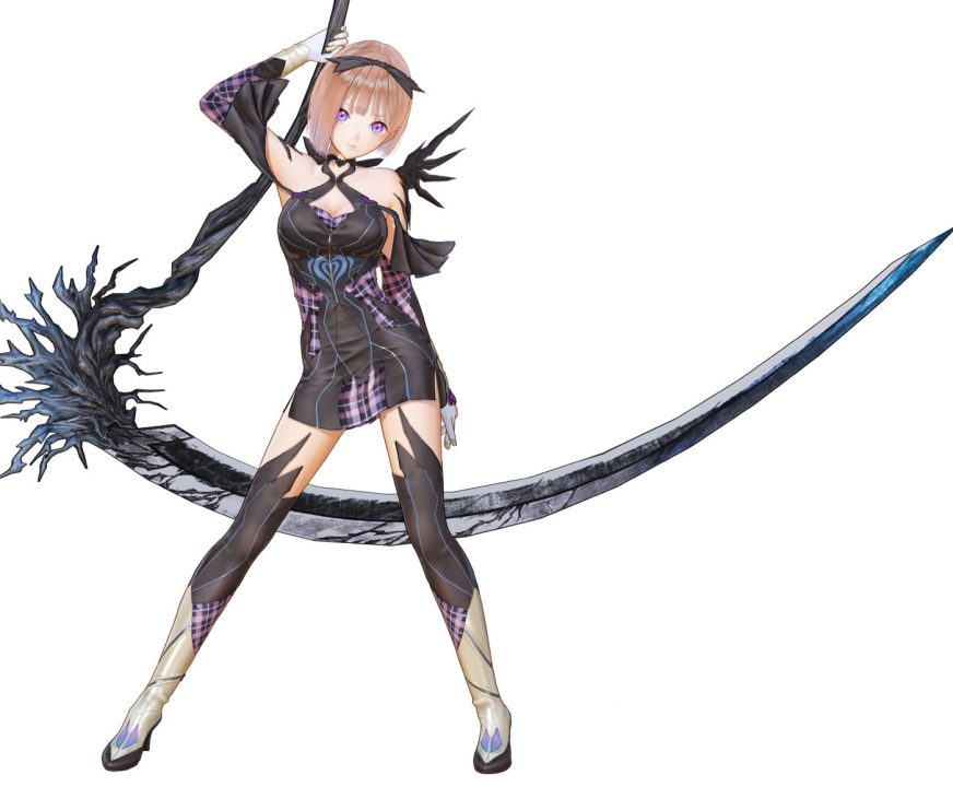 Artwork Of Ao From Blue Reflection Second Light