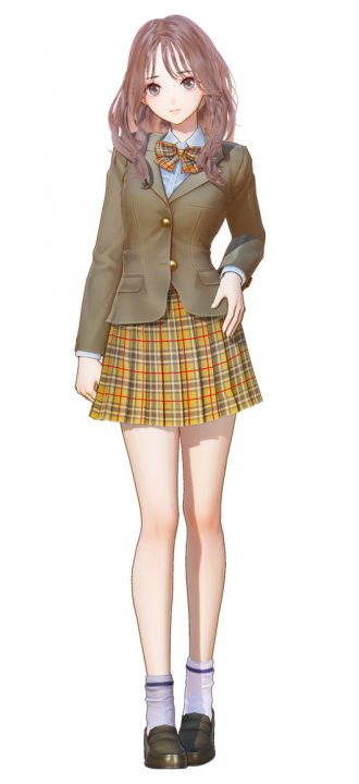 Artwork Of Renya From Blue Reflection