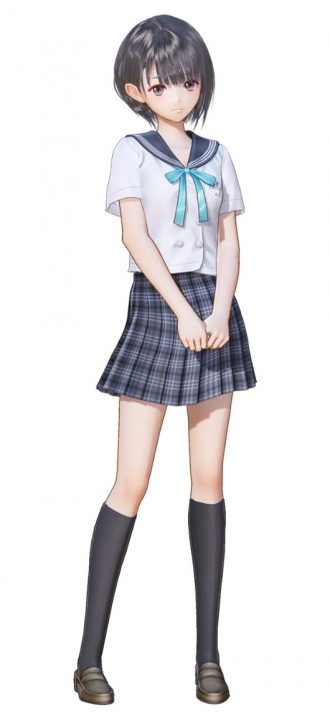 Artwork Of Hinako From Blue Reflection