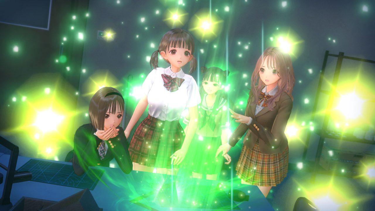 Screenshot From Blue Reflection Second Light