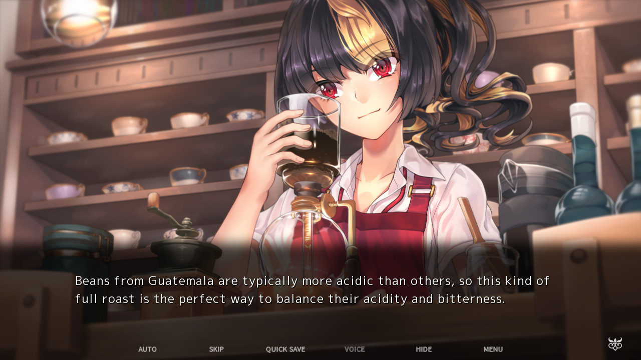 A character in FATAL TWELVE seems to think she's Sojiro from PERSONA 5
