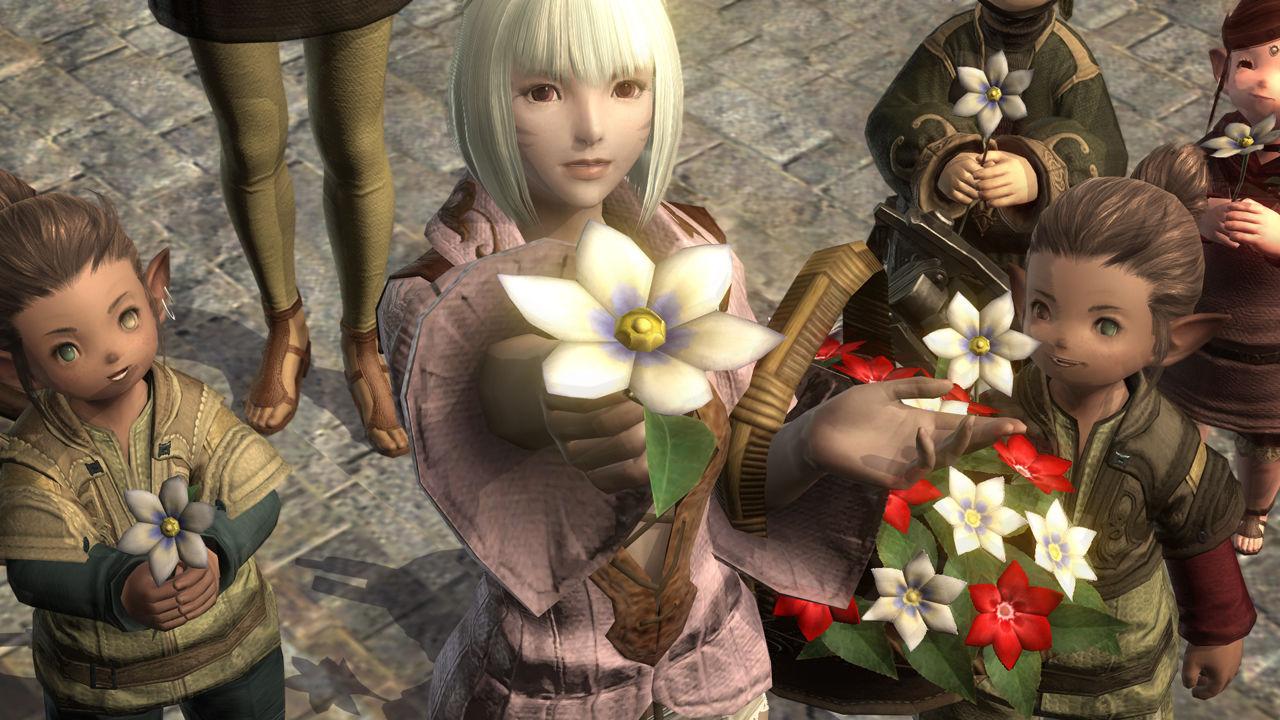 Final Fantasy XIV Flowers