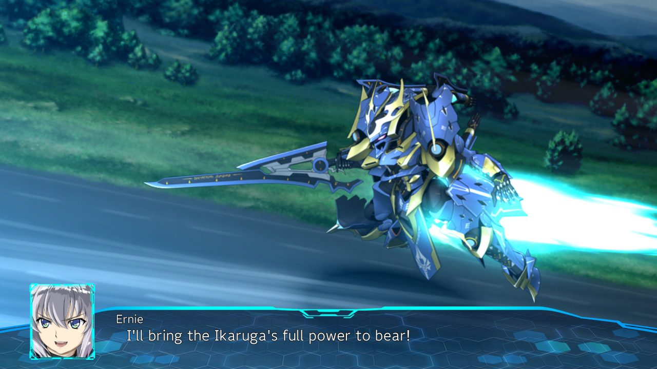 Ernie will bring the Ikaruga's full heart to bear in Super Robot Wars 30