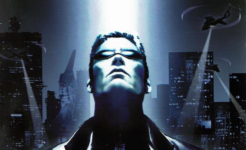 Deus Ex Artwork of JC Denton