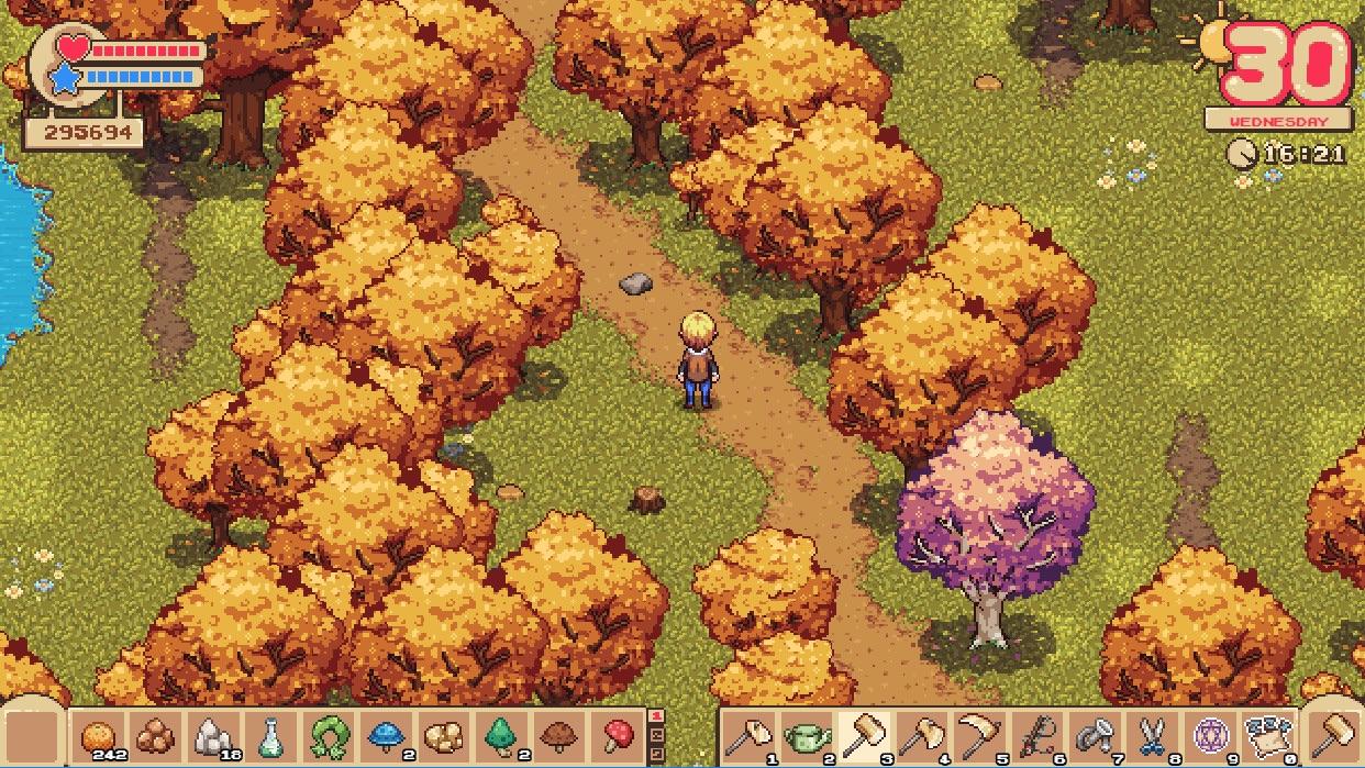 Fantasy Farming: Orange Season autumn screenshot