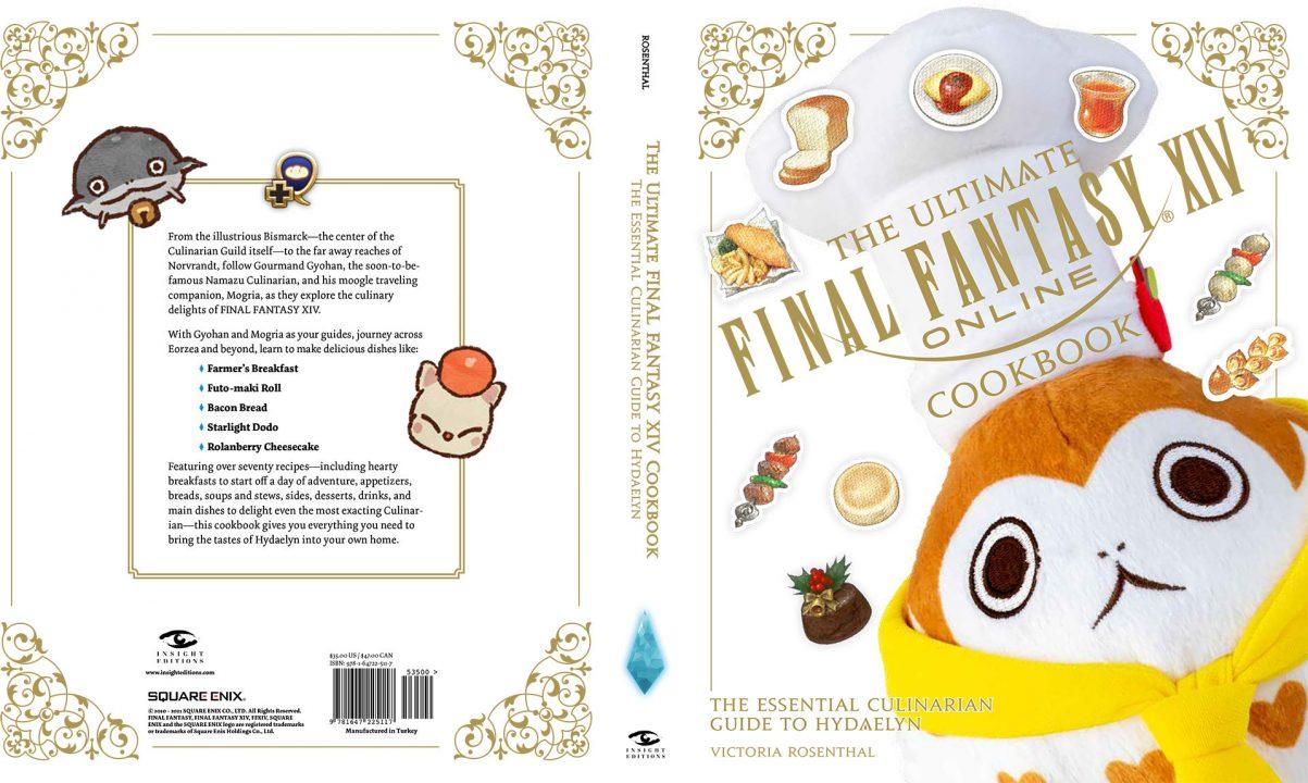 Final Fantasy XIV Ultimate Cookbook Cover GameStop Edition