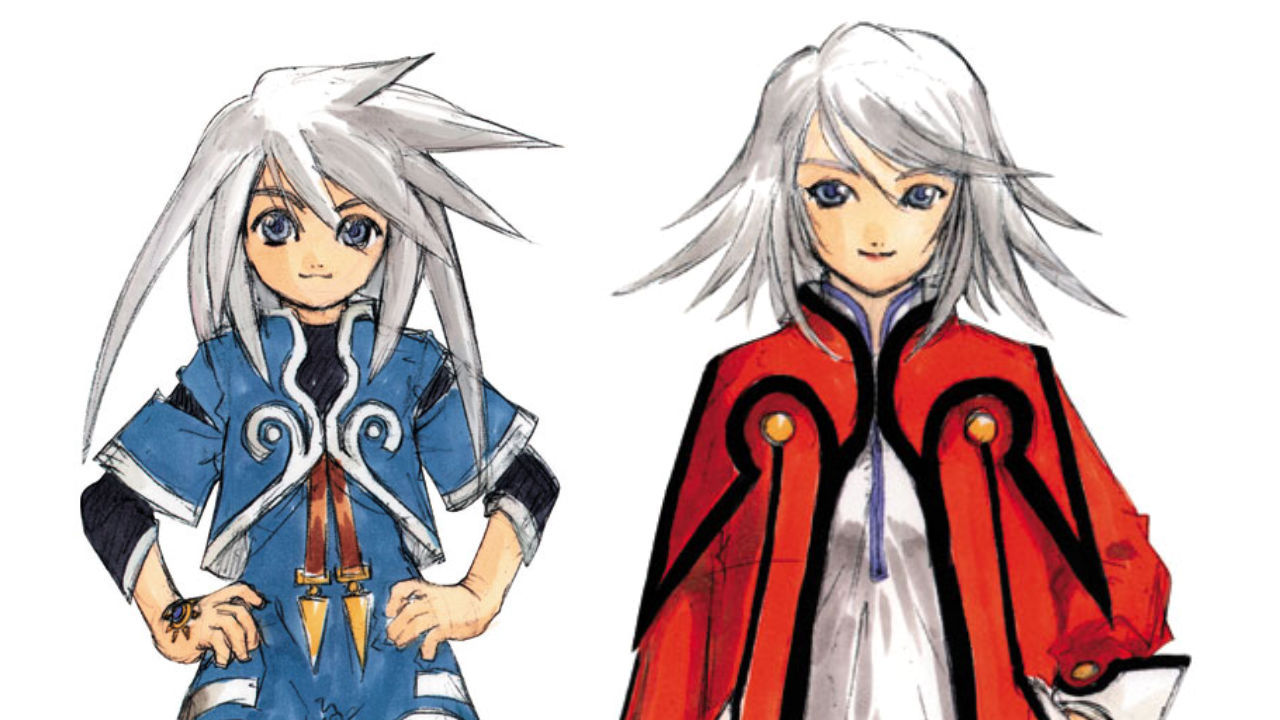 Tales of Symphonia Artwork of twins Genis and Raine