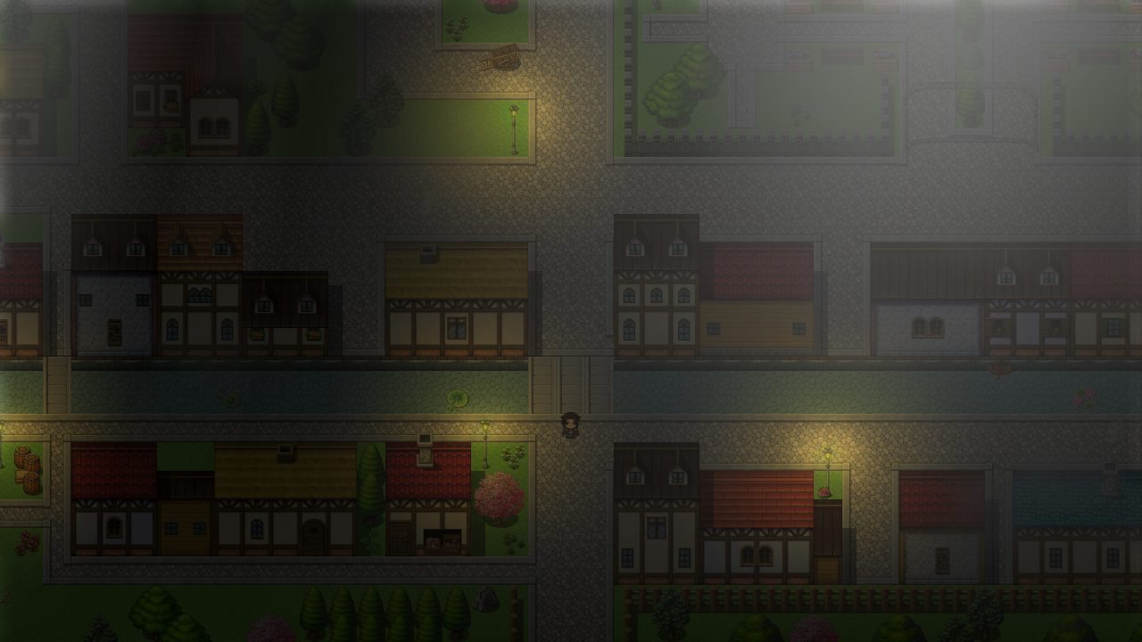 Ambiant town lighting in Blood of the Alchemists