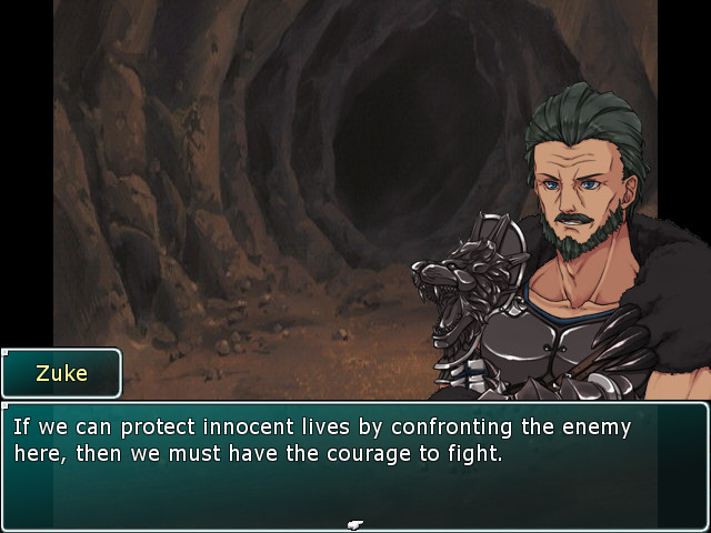 A man, who has dark hair and facial hair, with a plan in Dragon's Vengeance