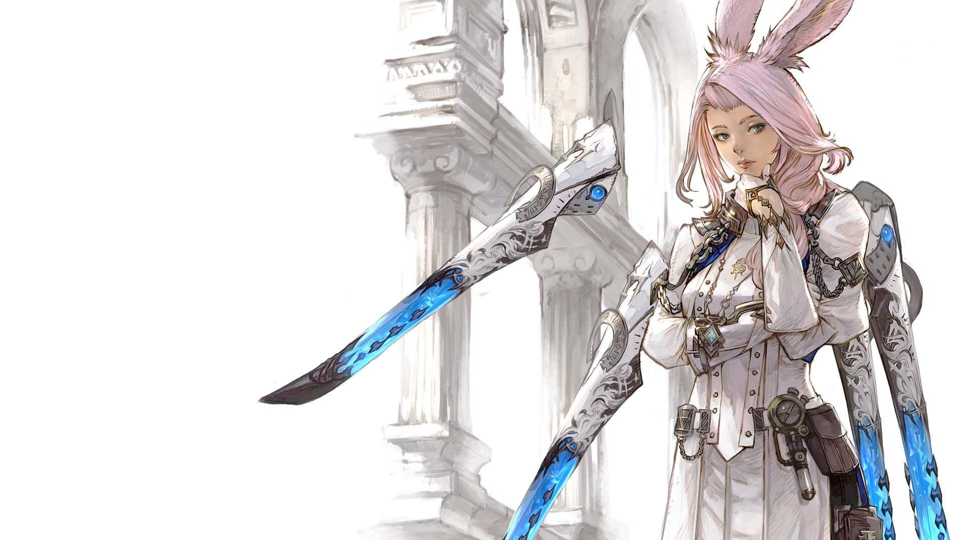 Final Fantasy XIV: Endwalker Sage Job Class Art
