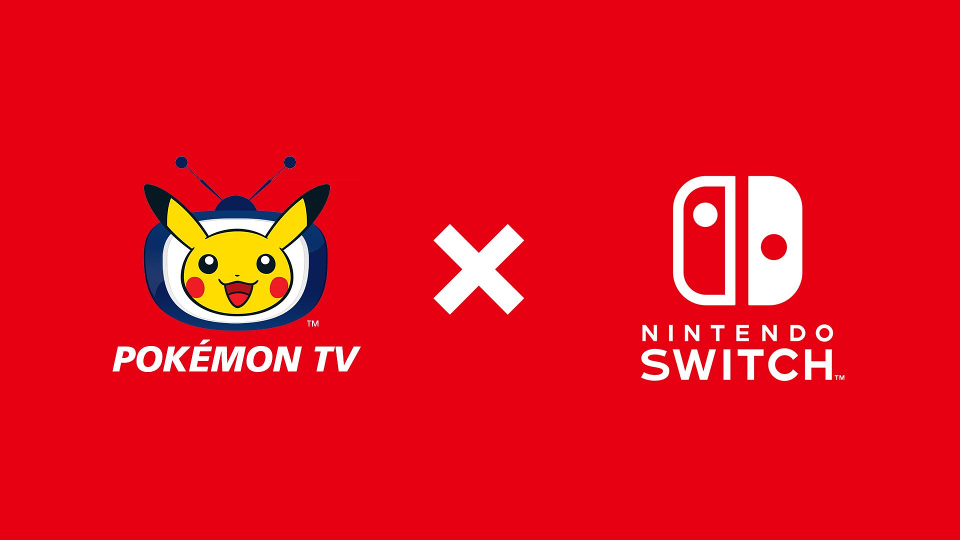 Pokemon TV and Switch logos