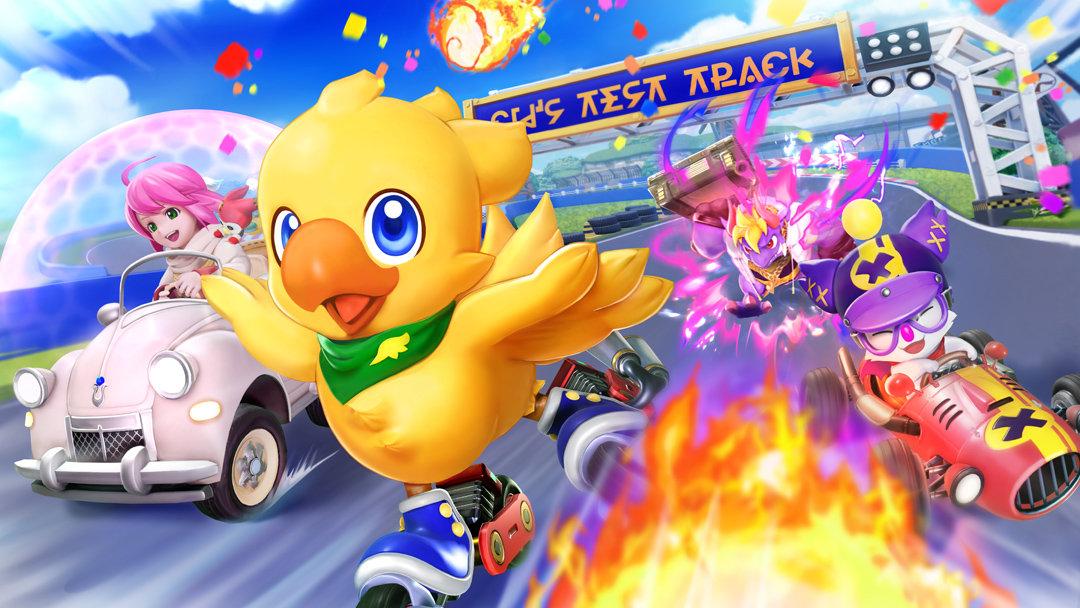 Artwork From Final Fantasy Kart Racer Chocobo GP