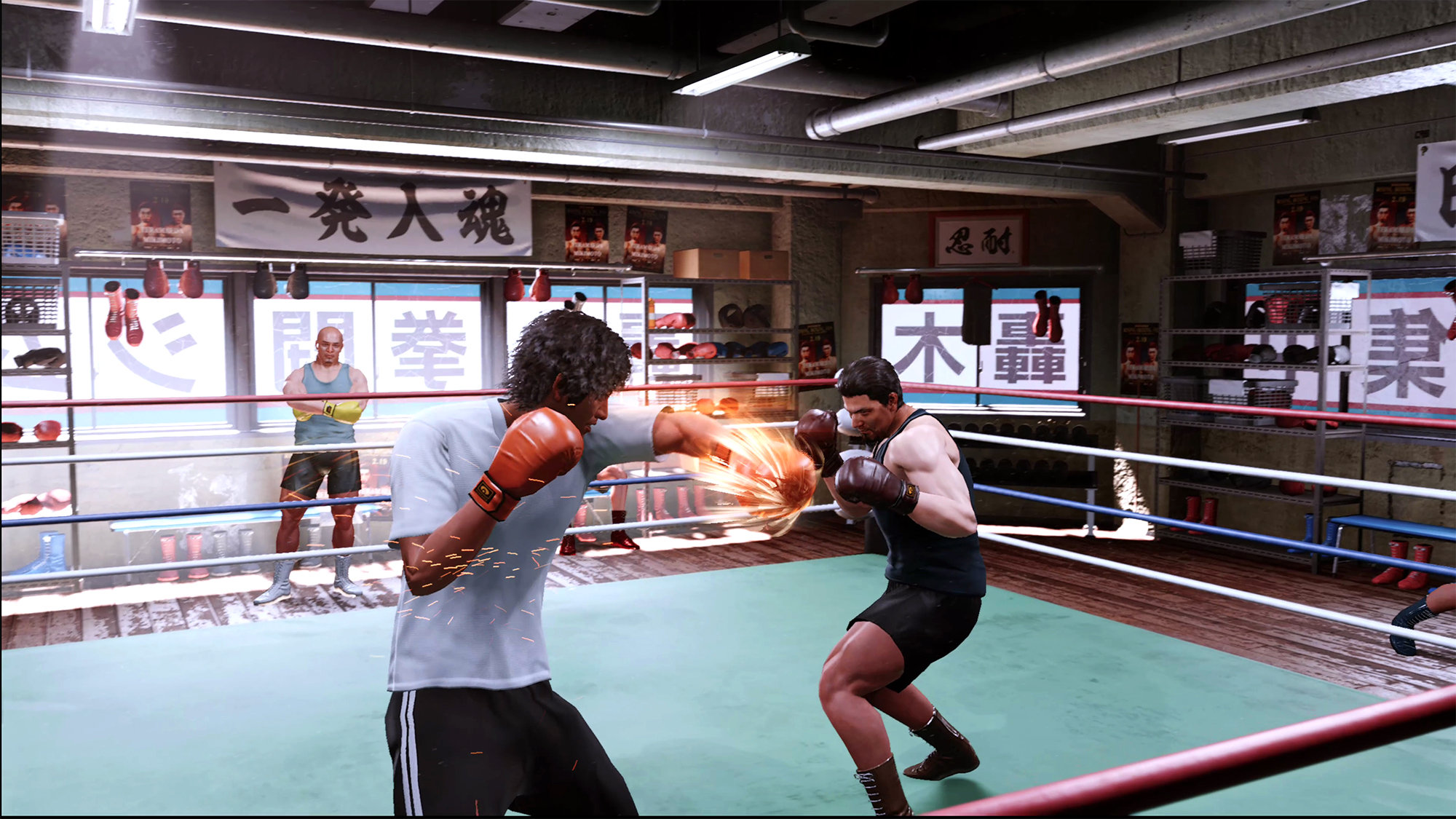 Boxing in Lost Judgment.