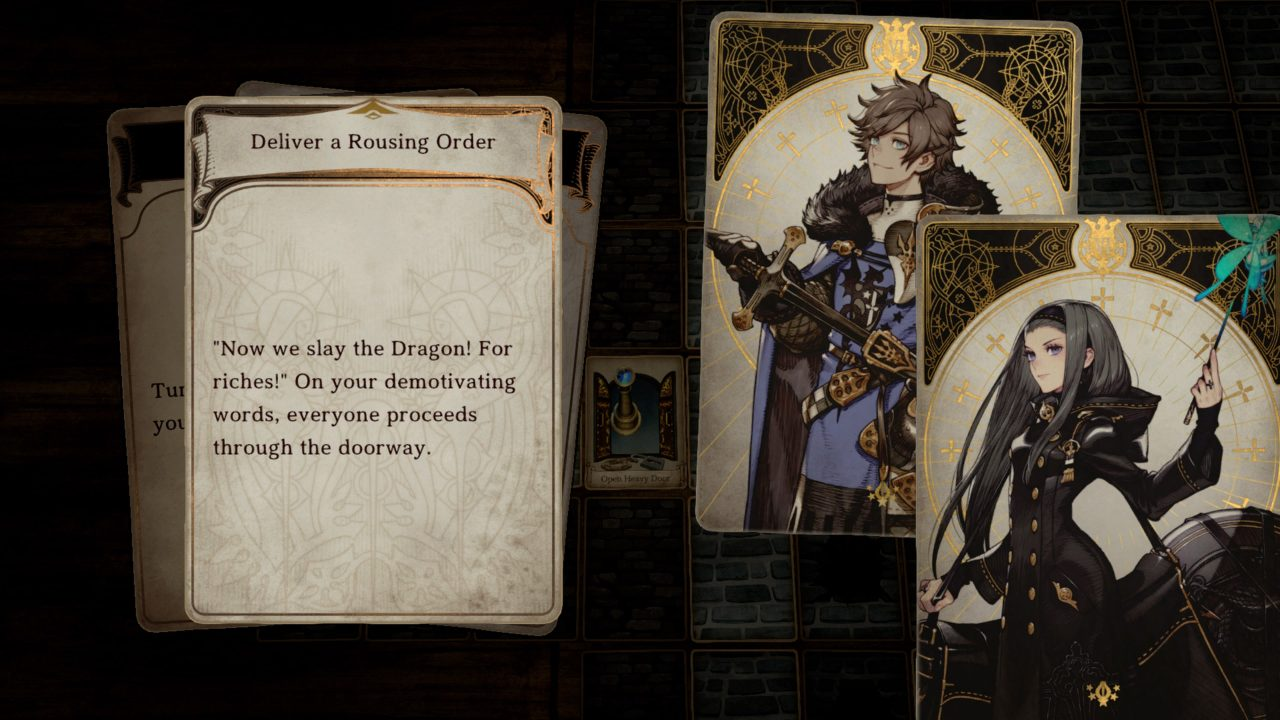 Screenshot From Voice of Cards: The Isle Dragon Roars