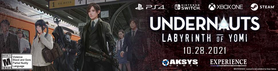 Undernauts: The Labyrinth of Yomi Advertisement